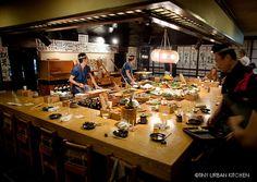 Inakaya Roppongi - one of the coolest places I've ever eaten.