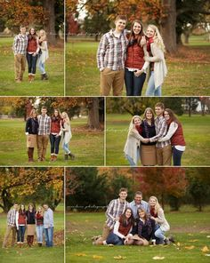 Family pictures with teenagers