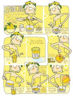 Lemoncurd smaakt met bijna alles goed. Wij smeren het graag op een beschuitje of scone, of roeren het door de yoghurt voor een friszure citroensmaak.    1. Doe het sap en de schil van de 4 citroenen samen met de suiker en boter in een steelpan met...