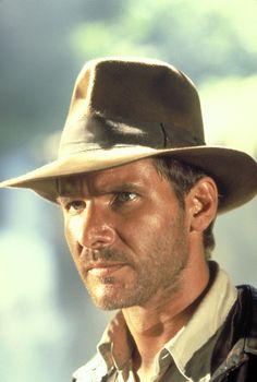"Harrison Ford in ""Indiana Jones: Raiders of the Lost Ark"" (1981). DIRECTOR: Steven Spielberg."
