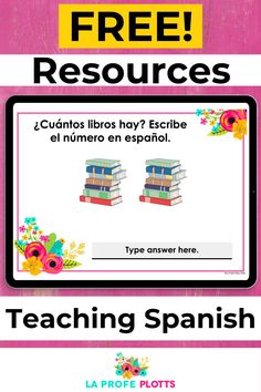Just what you've been waiting for! I have a wide range of FREE resources you can use in your Spanish classroom. Be sure to check them out now. #TeachingSpanish #SpanishClassroom