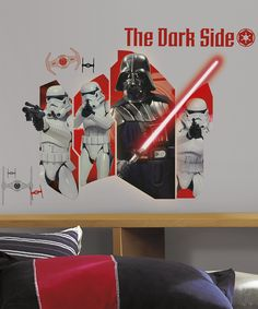 Love this Star Wars Classic Darth Vader & Stormtroopers Decal Set by Star Wars on #zulily! #zulilyfinds