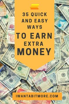 Earning extra money is something most of us would like to do.  Here are a few ways from side hustles to quick sales that you can raise an extra hundred bucks to help swell the coffers. #earnmoney #sidehustles #workfromhome #earnonline #personalfinance
