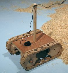 http://woodgears.ca/tracked_vehicle/index.html