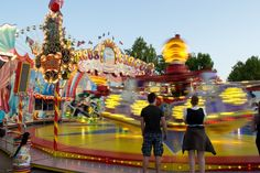 Rides at Volksfest in Stuttgart, Germany Stuttgart Germany, Beautiful Places To Visit, Fair Grounds, Travel, Viajes, Destinations, Traveling, Trips