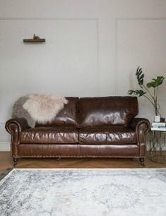Vintage Leather Sofa - 3 Seater