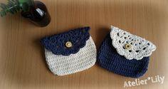 ナチュラルなドイリー付きミニポーチの作り方|編み物|編み物・手芸・ソーイング
