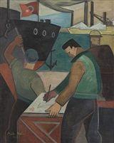 Maide Arel.  Ship-building