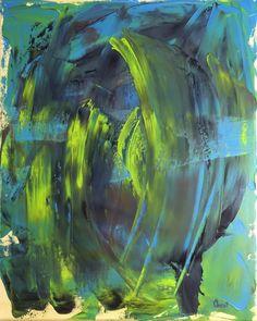 "Oil painting ""Passage #2"""