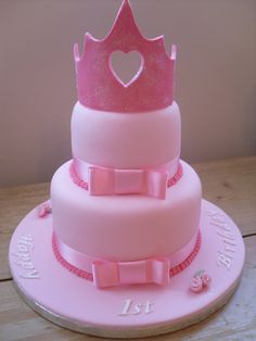 2 Tier Princess Cake just love this `one