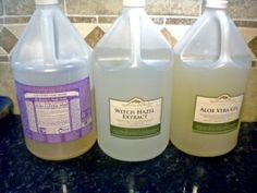 Homemade wipes and/or wipes spray