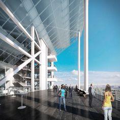 Gallery - Richard Meier Unveils 180-Meter Tower Development in Mexico - 4