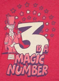 Serious Whimsy: Everything Happens in Threes -- Three is a number with a storied past. Three can be a blessing or a curse. Take The Holy Bible for example. If numerical values do not reach forty, they come in threes. Last Minute Ticket, Magic Number, Lucky Number, Just Peachy, Numbers, My Favorite Things, Instagram Posts, Fashion Design, Vintage