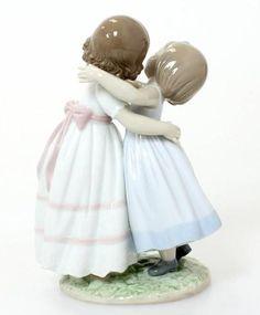 "Lladro Porcelain Figurines For Sale » Lladro ""Give Me A Hug"" Figurine #8046"