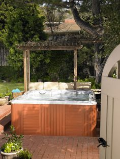 Step in to your new Vacanza Series Caldera #hottub. The water is warm :)