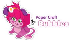 Bubbles Paper Craft - Free Fun Party Popples Printables and Activities | SKGaleana