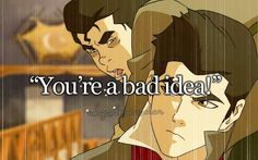 reasonstoloveavatar Awwww Mako she kissed you first and Bolin you have so many freaking fangirls suck it up. But still my fav episode because of Bolins eating problems. You're gorgeous, sorry for being harsh. I love Mako more.