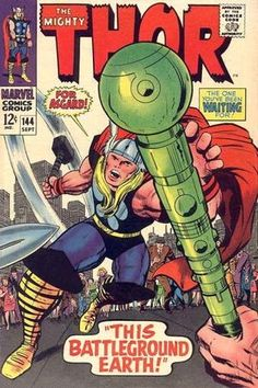 Thor 144. Por Jack Kirby. #JackKirby #Thor