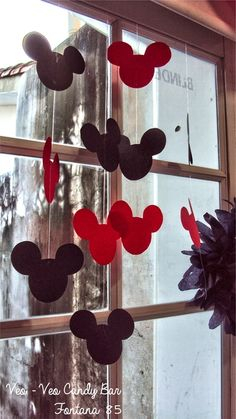 Photo 6 of 6: Mickey & Minnie / Birthday MOUSKE CUMPLE VINTAGE | Catch My Party