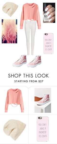 """Untitled #16"" by yoitsdd ❤ liked on Polyvore featuring Vans, Cotton Candy, SIJJL, Casetify and Polo Ralph Lauren"