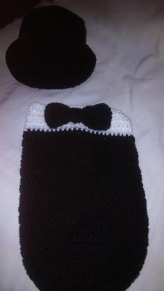 Check out this item in my Etsy shop https://www.etsy.com/listing/538207027/tuxedo-crochet-cocoon-set-formal-baby