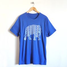 Elephant Men's T-Shirt – This elephant tee is simple and fashionable for dad. Pair with our children's 'little peanut' graphic tee for a fun day out!