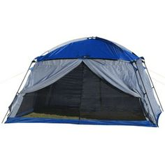 Roots screen house 17 x 15 ft canadian tire with three for Rv shelter canada