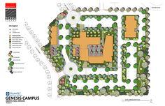 Asante Genesis Campus Conceptual Site Plan