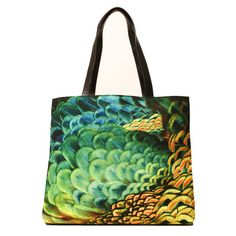 Peacock Tote, $159, now featured on Fab. For Leanne P