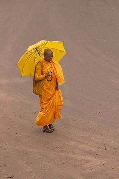 ^The colour of thoughts   A Sri Lankan Buddhist Monk