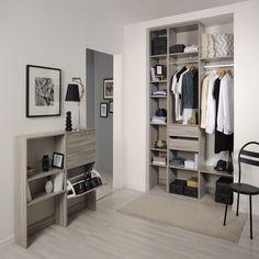 My Dress - Aménagement intérieur-Dressings, Armoires Colonne de L40xP25cm avec étagères