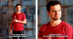 New Girl - Nick is definitely my favourite character! :)
