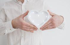 Gift for lovers Gift for him Gift for her Anniversary gift Engagement gift Heart lamp Heart light