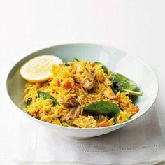 Spiced Tuna with Rice - Recipe Ideas - Healthy & Easy Recipes