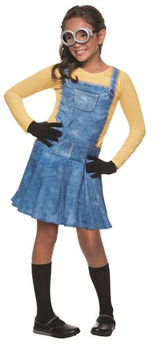 Minion Girl's Female Costume - Despicable Me 2 - Minion Costume