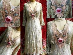 Bohemian altered clothing by Madame Susha