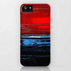 black sea iPhone & iPod Case by agnes Trachet - $35.00