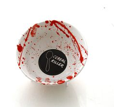 Cereal bowl cereal killer bowl funny gift gift for him by LennyMud