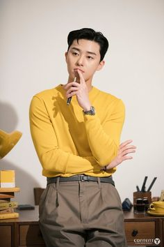 What's Wrong With Secretary Kim-Park Seo-joon_KDrama-Subtitle Park Seo Joon, Seo Kang Joon, Handsome Korean Actors, Hyung Sik, Korean Star, Yellow Shirts, Gong Yoo, Kdrama Actors, Korean Celebrities