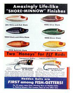Heddon River-Runt Spook Print Ad, 1938