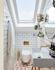 Loft Ensuite, Loft Bathroom, Bathroom Plumbing, Bathroom Interior, Family Bathroom, Bathroom Beach, Small Attic Bathroom, Upstairs Bathrooms, Small Bathrooms