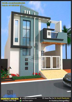 House Wall Design, House Balcony Design, House Outer Design, Single Floor House Design, Modern Small House Design, 2 Storey House Design, Modern Exterior House Designs, Bungalow House Design, House Front Design