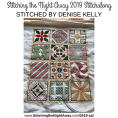 Stitching the Night Away 2019 Mystery Stitch-a-Long Sampler Pattern with Cross Stitch and Blackwork Cross Stitch Thread, Cross Stitch Fabric, Cross Stitching, Cross Stitch Patterns, Create A Shopping List, Owl Cat, Hello Kitty Wallpaper, Cute Owl, Loom Patterns