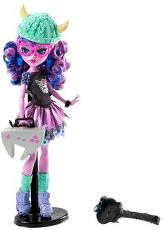 MONSTER HIGH® Brand-Boo Students™ Kjersti Trollsøn™ Doll - Shop Monster High Doll Accessories, Playsets & Toys | Monster High