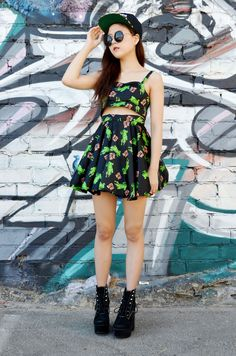 DIY Bralette Circle Skirt (Chictopia Dress Giveaway) - tutoriel en vidéo