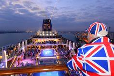 Rule, Britannia!, Britannia rule the waves! @pandocruises #Britannia #cruise