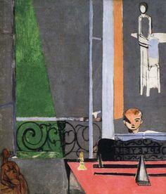 Tableau La leçon de piano d'Henri Matisse