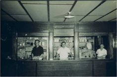 Canteen at Camp Hearne. All prisoners received coupons to use for cigarettes and other items.