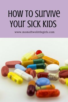 My kids are sick, mainly the older one, but both of them. Their symptoms have ranged from a persistent cough lasting about 3 weeks, to stomach ache, to raging fevers of almost 40 degrees the past t…