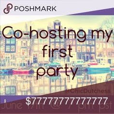 4 MORE days... Host pick anyone? ❤️ I have received so many wonderful responses to my first party listing! It's so heartwarming. The first listing was full so I created a 2nd listing. Yaaay this Dutch lady got invited....Come join me as I co-host my first Posh Party! So excited! Please follow me, like and share this listing... Sharing is caring . Only Posh compliant closets. Theme: Minimalistic Chic ❤️ Accessories